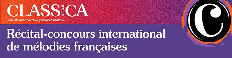 Récital-concours international de mélodies françaises