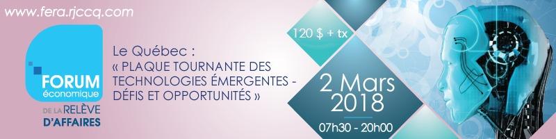 Forum Économique de la relève d'affaires- 3ème édition