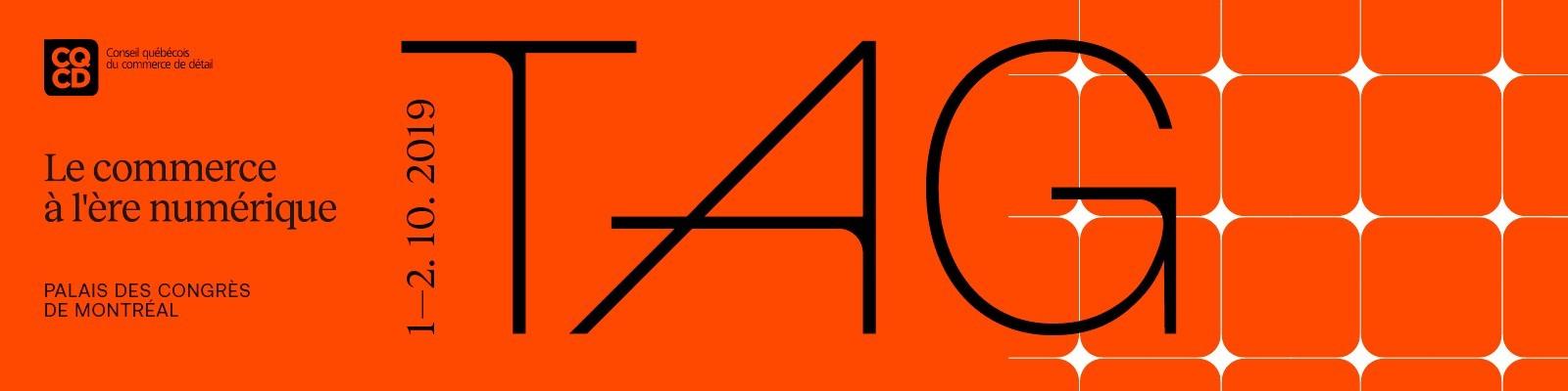 TAG,  Le commerce à l'ère numérique - édition 2019