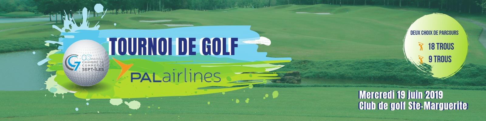 Tournoi de golf 2019 de la Chambre de commerce de Sept-Îles