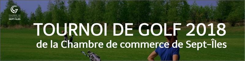 Tournoi de golf 2018 de la Chambre de commerce de Sept-Îles