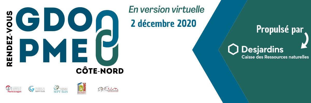 RENDEZ-VOUS GDO / PME CÔTE-NORD - VERSION VIRTUELLE