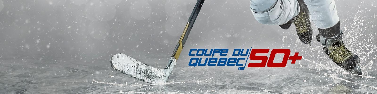 Coupe du Québec 50+ Hockey 2020 Pré Inscription