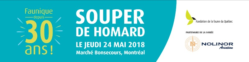 Fondation de la faune du Québec - Soirée-bénéfice 2018