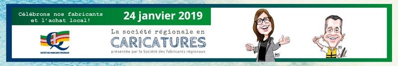 La société régionale en caricatures 2019
