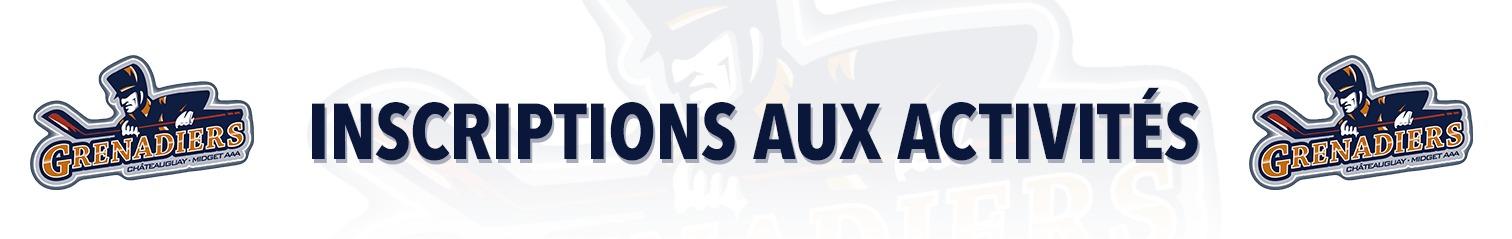 Grenadiers Châteauguay - Pré-camp 2021-2022