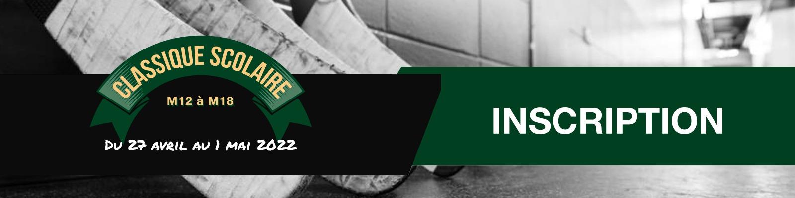 Classique hockey scolaire du Québec édition 2021-2022