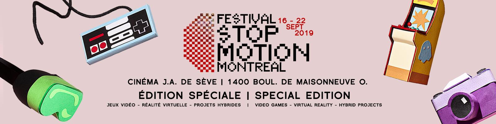 Festival Stop Motion Montréal - 11e Édition